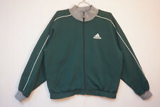 adidas Vintage Midweight Full-Zip Track, Soccer, Futbol Jacket, Men's Small 8525