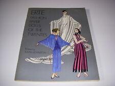 Erte Fashion Paper Dolls of the Twenties, 1978, Dover Pub., New, Uncut!