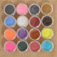 16 Mixed Color Glitter Powder Eyeshadow Makeup Eye Shadow Cosmetics Beauty Set