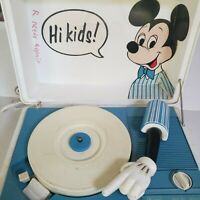 Vintage Sears Mickey Mouse Record Player