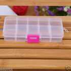 Plastic 21/24/28 Slots Adjustable Jewelry Storage Box Case Craft Organizer Beads