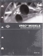 2008 Harley VRSC VRSCDX VRSCF VROD V-ROD Part Parts Catalog Manual Book 99457-08