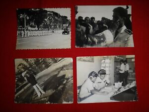 Collection Of 4 Vintage ARVN Military Photos SOLDIERS From Vietnam War Era