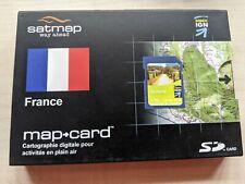 Satmap Map Card. France Aquatine