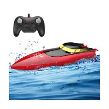 Rc Boat for Pools and Lakes Remote Control Boats for Kids Adults 2.4Ghz Radio.