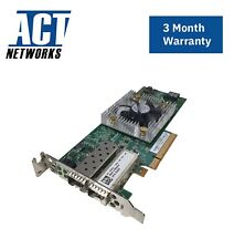 Dell C852G QLogic QLE8262L Dual Port 10GbE CNA PCIe SFP+ Low Profile Server Adap