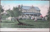 Ulster Heights, NY 1909 Postcard: Rampe Villa - New York