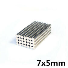 2550pcs Small Disc Cylinder Neodymium Magnets 7 X 5 Mm Round Rare Earth N50