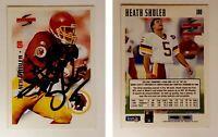 Heath Shuler Signed 1995 Score #180 Card Washington Redskins Auto Autograph