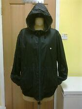 AJ ARMANI  Black Reversable Hooded Zip Jacket - size XL  BNWT  £300