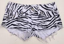 EUC  - RRP $229 - Womens Stunning True Religion 'JOEY CUT OFF' Hot Pants Shorts