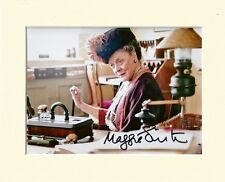MAGGIE SMITH DOWNTON ABBEY DOWAGER PP 8x10 MOUNTED SIGNED AUTOGRAPH PHOTO