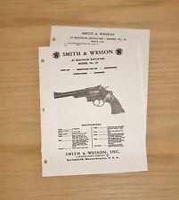 Smith & Wesson .44 Magnum Model 29 Revolver Manual - #SW7