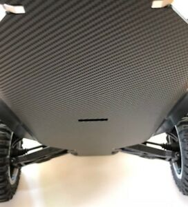 Associated RC10 & RC10T... Chassis Skin Protector...3D Thick Carbon Fiber Vinyl