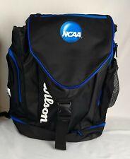 Soccer/Sports Backpack Bag Official NCAA Wilson NEW Blue & Black