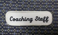 COACHING STAFF Iron or Sew-On Patch