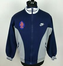 Vintage 1990's NETHERLANDS NIKE Track Jacket Men's Size S HOLLAND KNVB RARE Top