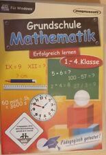Grundschule Mathematik CD Lernsoftware Klasse 1-4