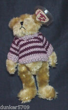 1993 CHELSEA BEAR COLLECTIBLE TY BEANIE POLYESTER FIBER CHINA PLUSH WITH TAGS