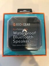 ECOXGEAR EcoPebble Lite Waterproof Speaker for Universal/Smartphones - Black
