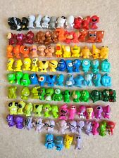 GoGo's Crazy Bones Figurines Bundle Lot of Gogos 100 Different Toy Figure (r136)