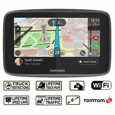 New TomTom Go Professional 6200 Truck Trucker Sat Nav GPS WiFi Lifetime Maps