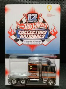 Hot Wheels 12th Annual Collectors Convention Thunder Roller Mint Carded! Low#93