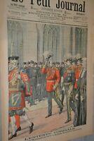 Supplément Illustré Petit Journal N°797 / 4-3-1906 / Edouard VII