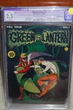 Green Lantern #1 CGC 2.5 (R) DC 1941 Movie! Golden Age Key! C9 1 111 cm