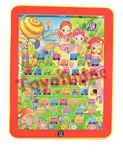 Red Tablet - IPAD jouet éducatif cadeau de Noël pour les bébés enfants