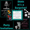 Personalised SURPRISE BIRTHDAY PARTY Invitations 18th 21st 30th 40th 50th 60th