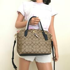 Coach Remi in Signature CC Satchel 2318 Imr34 / MSFRP