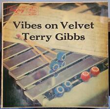 TERRY GIBBS vibes on velvet LP VG+ MG-36064 EmArcy 1956 Mono USA w/Inner