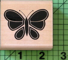 Brilliant Butterfly Z255 rubber stamp by Posh Impressions 1988