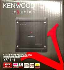 Kenwood Excelon X501-1 500 Watts RMS Class D Mono Channel Car Amplifier