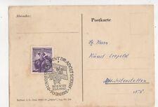 Bundespraesident Dr Adolf Schaerf 70 Jahre 1960 Wien Austria Postmark 439b