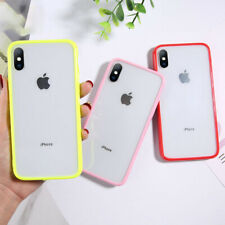 For iPhone 11 11 Pro Max XS XR Phone Case Shockproof Silicone Bumper Clear Cover