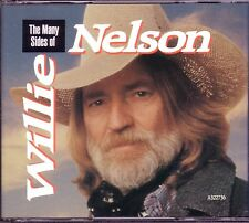 WILLIE NELSON Many Sides 3CD Classic 70s 80s DANNY BOY TAKE IT TO LIMIT Rare