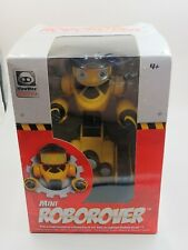 WowWee Mini ROBOROVER Electronic Yellow Robot Mechanical Figure New / Unused Toy