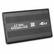 2.5 Inch USB 2.0 SATA I & II External Hard Drive HDD Enclosure/Caddy Case