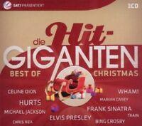 ELVIS PRESLEY/WHITNEY HOUSTON/UVM - DIE HIT GIGANTEN-BEST OF CHRISTMAS CD 3 NEU