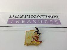 Tokyo Disney Disneyland 10th Anniversary Sorcerer Mickey Pin Bar Back