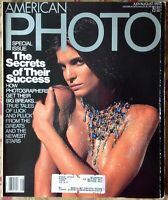 AMERICAN PHOTOGRAPHER PHOTO MAGAZINE JULY/AUGUST 1991 STEPHANIE SEYMOUR COVER