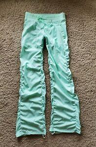 Lululemon Dance Studio Pants - Unlined -  FRESH TEAL   Sz 6  EUC!!