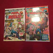 Amazing Adventures Featuring War of the Worlds #35, 39 Comic Books Marvel Comics