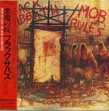 BLACK SABBATH  Mob Rules 2CD MINI LP