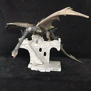 Lord of the Rings Battle Scenes Osgiliath Ruins with Fell Beast Toy