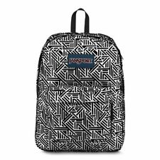 Jansport Superbreak  Backpack White Geo Flock JS00T15W0ZY
