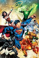 DC COMICS - JUSTICE LEAGUE POSTER PRINT-MATTE-BUY 2 GET 1 FREE (BATMAN/SUPERMAN)