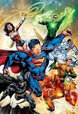DC Comics-Liga De La Justicia cartel impresión mate-Compre 2 lleve 1 gratis (Batman/Superman)